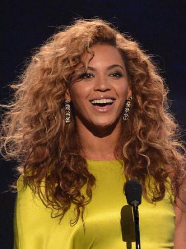 """Konetyötä Muodikas 16"""" Kinky Kerrostettu Brasilian Remy-Hiusta Beyonce Peruukit"""