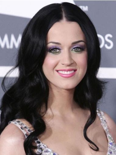 """Laineikas 20"""" Pitkät Ilman Otsatukkaa Konetyötä Joustavuus Katy Perry Peruukit"""