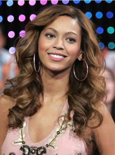 """Lace Front Hyvä 18"""" Laineikas Kerrostettu Synteettistä Beyonce Peruukit"""