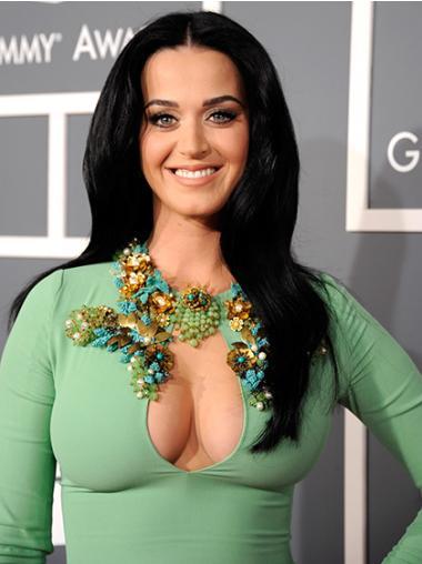 """Suora 20"""" Pitkät Ilman Otsatukkaa Konetyötä Sulavalinjainen Katy Perry Peruukit"""