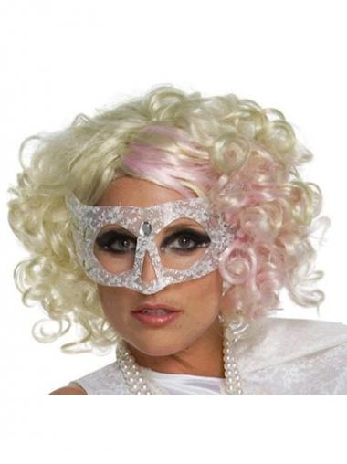 "Halpa Vaalea Kiharat 12"" Leukapituinen Lady Gaga Peruukit"