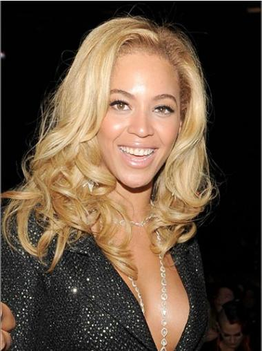 """Edullinen 14"""" Vaalea Ilman Otsatukkaa Lace Front Laineikas Beyonce Peruukit"""