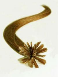 Kaunis Vaalea Remy-Hiusta Suora Sinettipidennykset