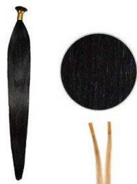 Musta Remy-Hiusta Suora Korkealaatuinen Mikrorengaspidennykset