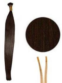 Kullanruskea Remy-Hiusta Suora Kestävä Mikrorengaspidennykset