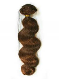 Laineikas Kullanruskea Satumainen Remy-Hiusta Teippipidennykset