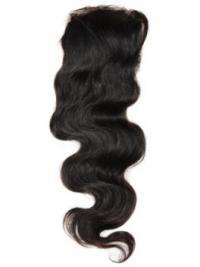 Musta Remy-Hiusta Laineikas Pitkät Korkealaatuinen Lace Closures
