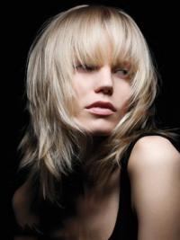"""Full Lace Hämmästyttävä 14"""" Remy-Hiusta Leukapituinen Otsatukka Fashion Peruukit"""